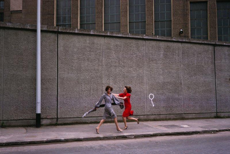 Guy Bourdin, Paris Vogue 1975, Chloé autumn-winter 1975 collection