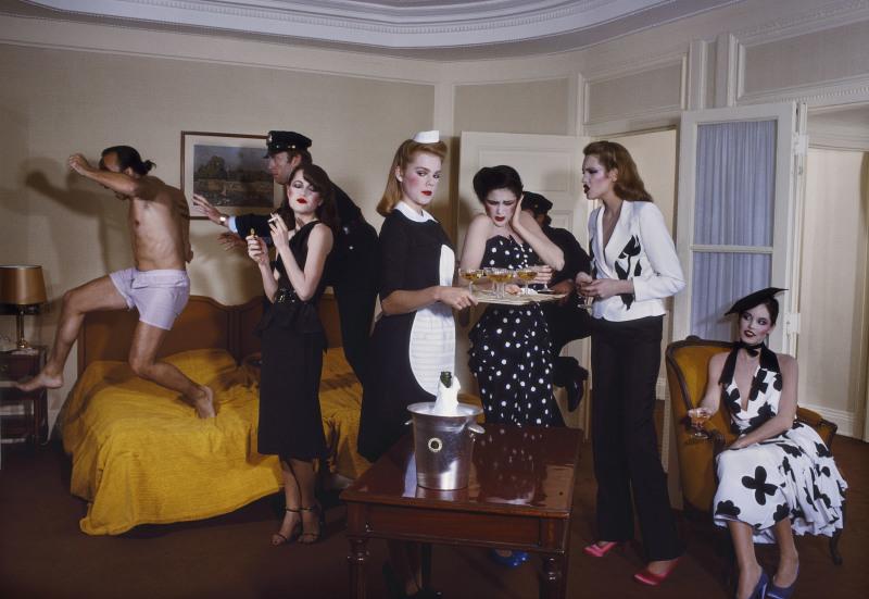 Guy Bourdin, Paris Vogue 1979, Chloé spring-summer 1979 collection