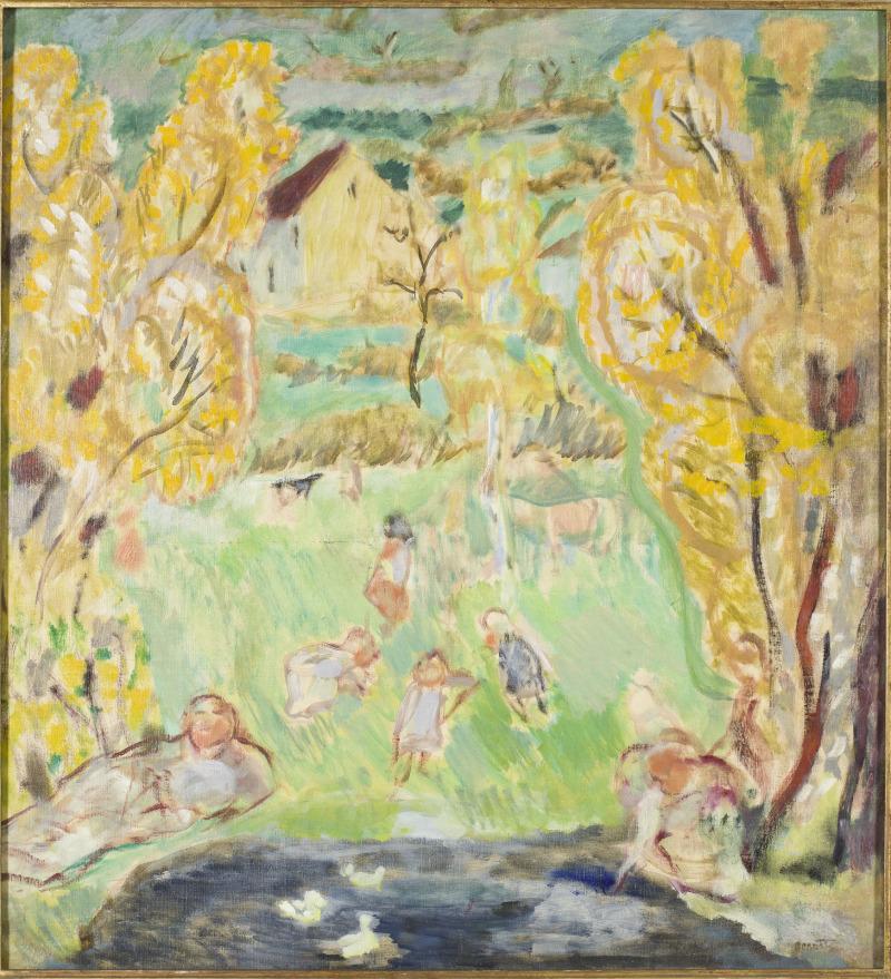 Bonnard, Etude pour le printemps, 1912, musée Bonnard
