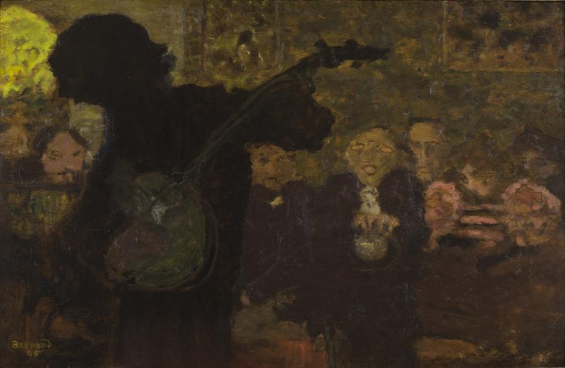 Bonnard, Joueur de banjo, 1895, musée Bonnard