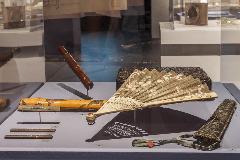Vue de l'exposition Retour aux sources au Musée Lalique