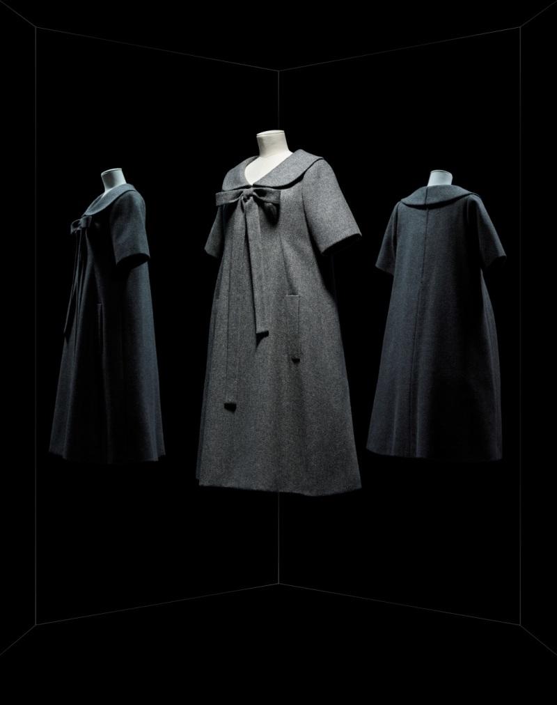 Yves Saint Laurent pour Christian Dior, robe Bonne Conduite, 1958, Musée des Arts Décoratifs