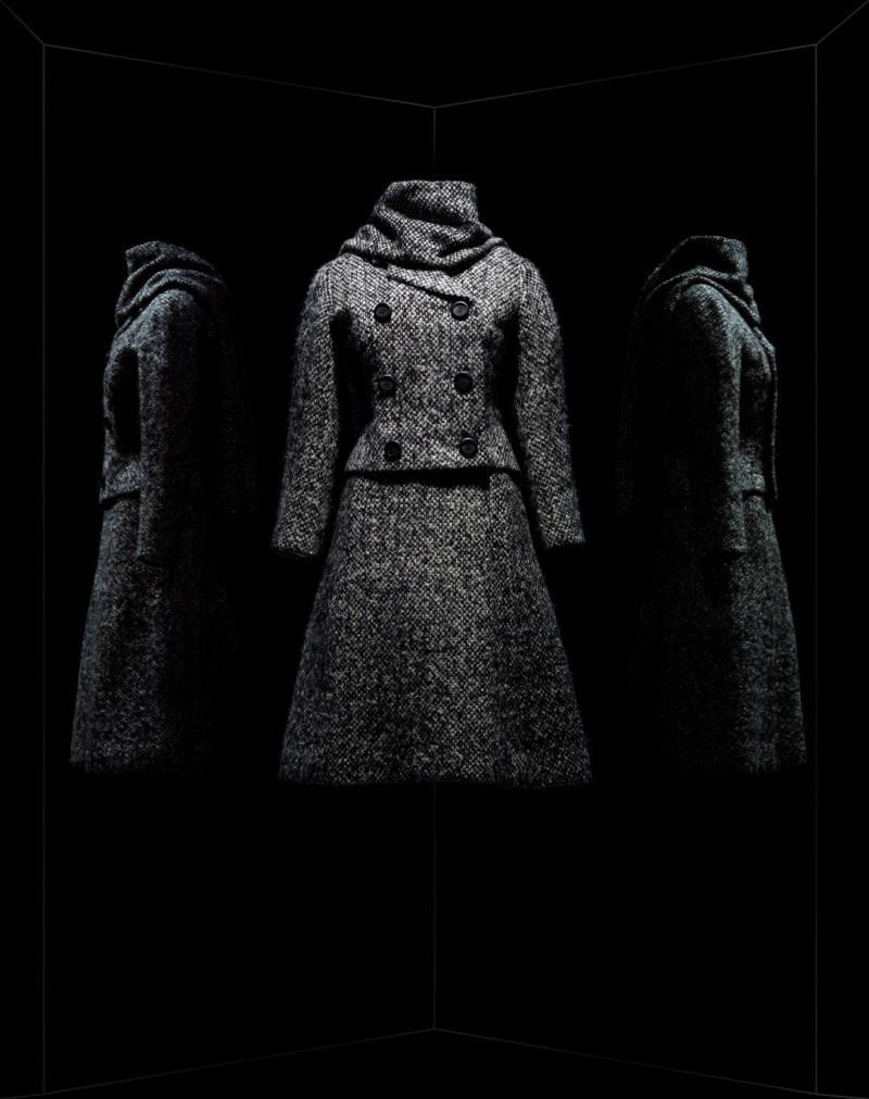 Marc Bohan pour Christian Dior. Tailleur Gamin, 1961, Musée des Arts Décoratifs