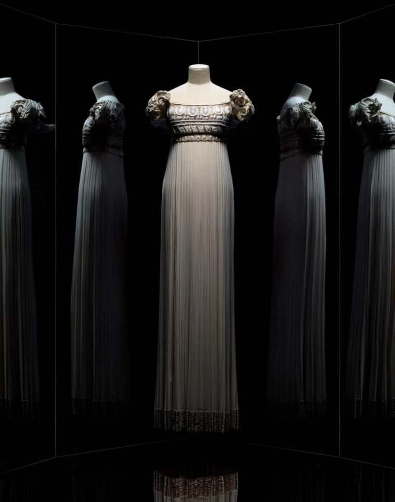 Gianfranco Ferré pour Christian Dior, robe Palladio, 1992, Musée des Arts Décoratifs