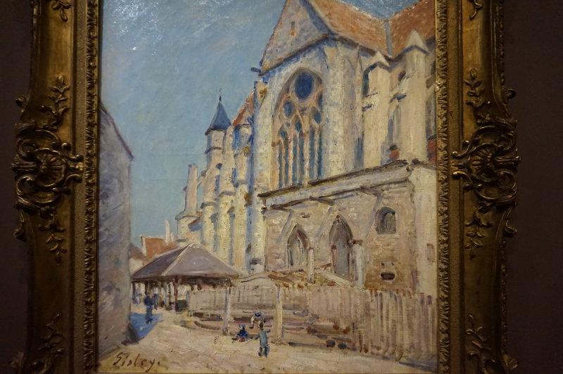 Expo Sisley l'impressionniste - Caumont Centre d'Art - Moret sur Loing