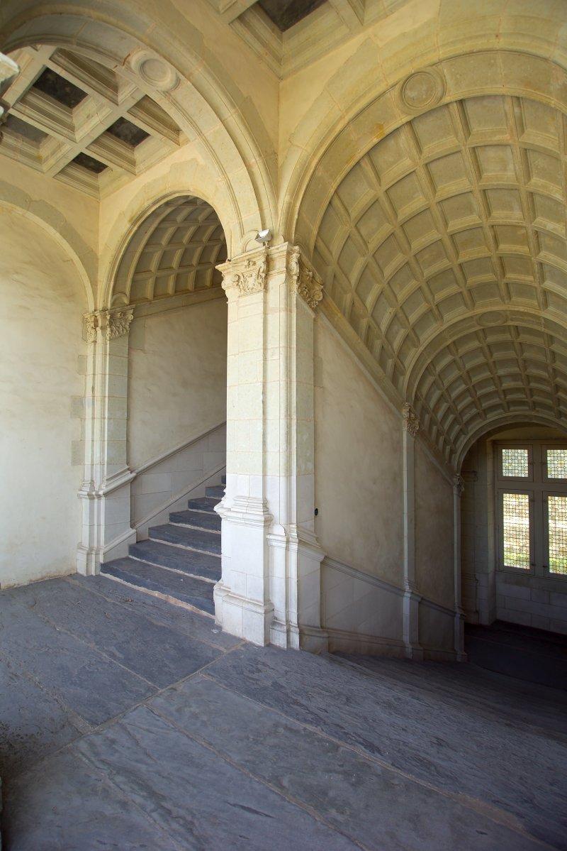Expo Trésors de la fin du Moyen-Âge, Château de Chateaubriant - Pavillon d'escalier du château de Châteaubriant