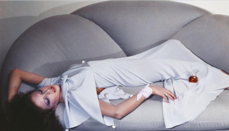 Guy Bourdin, Vogue Paris 1975, Chloé collection printemps-été 1975