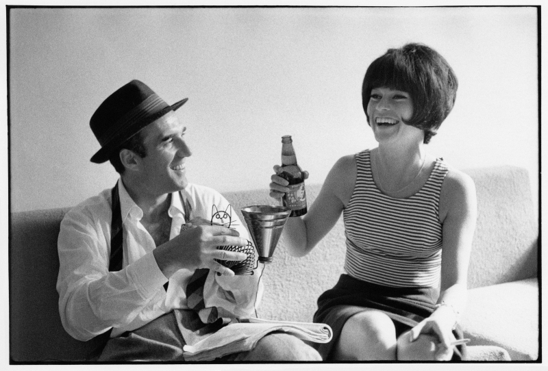 Michel Piccoli, Brigitte Bardot, 1963