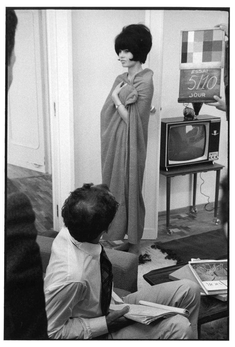 Brigitte Bardot, Jean-Luc Godard,1963