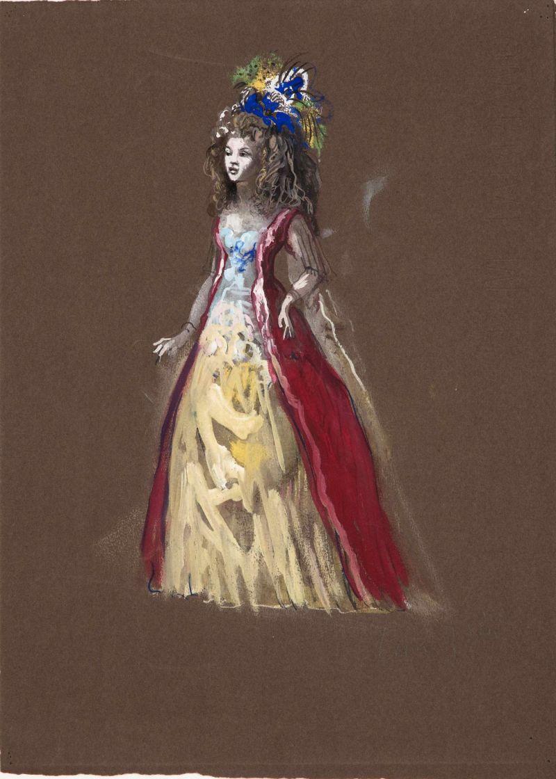 Leonor Fini, Bazajet, 1960 - Leonor Fini à la Galerie Minsky