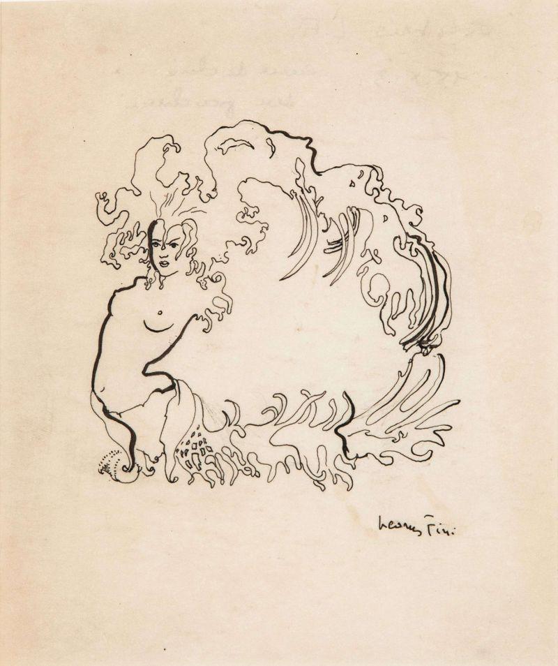 Leonor Fini, Ex Libris, 1960 - Leonor Fini à la Galerie Minsky