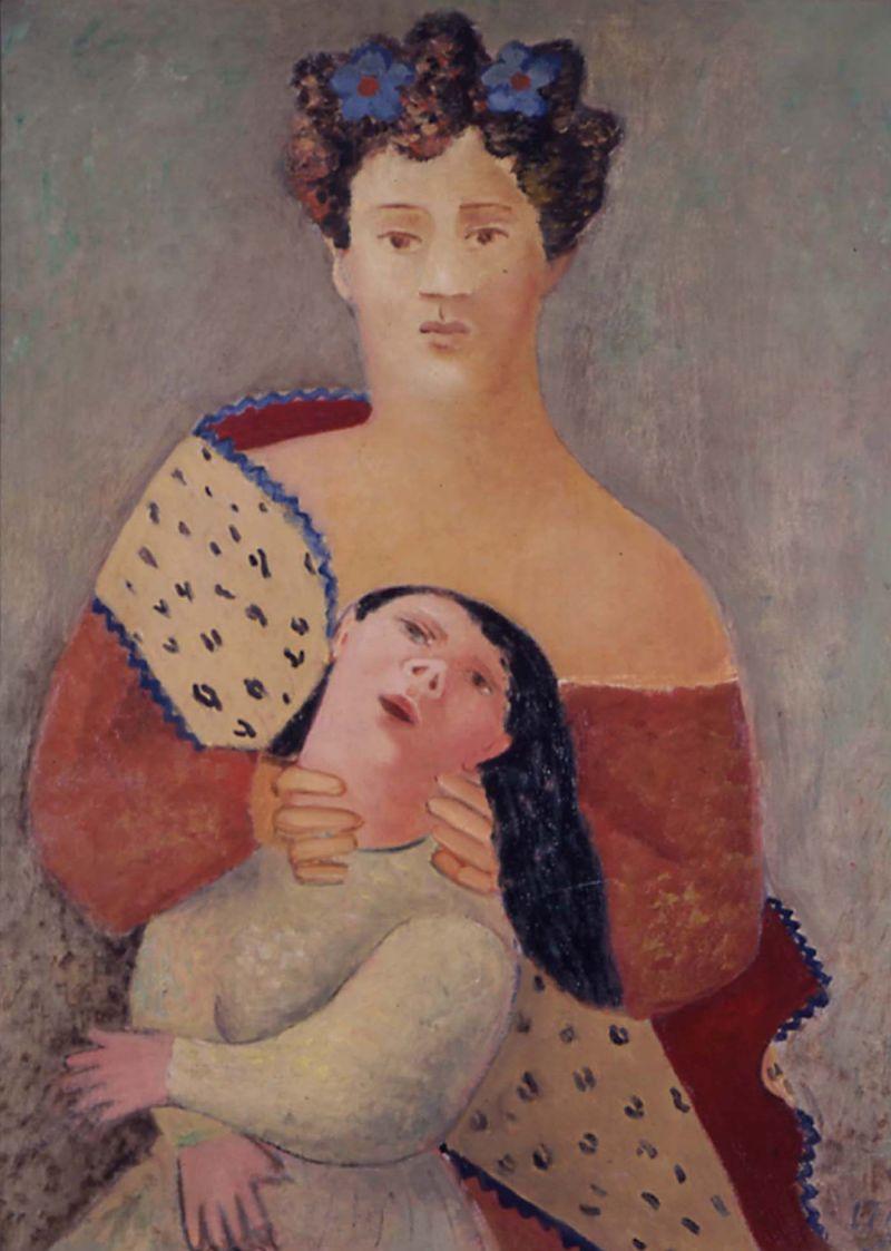 Leonor Fini, Maternite, 1933-34 - Leonor Fini à la Galerie Minsky