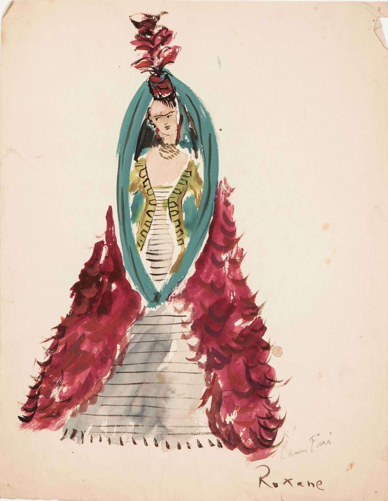 Leonor Fini, Roxane, 1960 - Leonor Fini à la Galerie Minsky