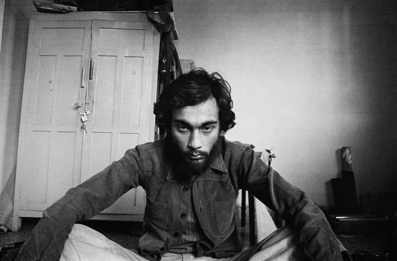 Self-portrait after a trippy night in my room, New Delhi 1976For MEP - Hi ResPhoto by: PABLO BARTHOLOMEWPhoto credit: PABLO BARTHOLOMEW All rights reserved. For permission and licensing rights: PLEASE CONTACT: pablo@bartholomew.tvOr by cellphone +91 98100 14131
