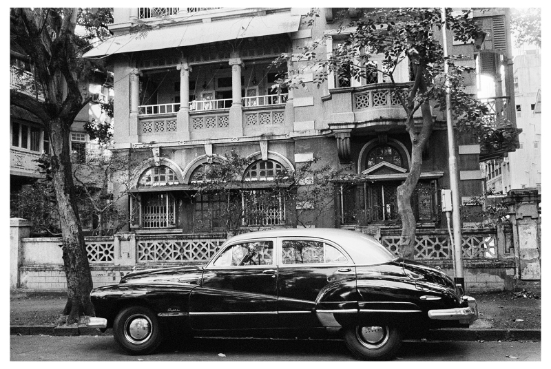 Car on Luburnam road, Bombay, circa 1979For MEP - Hi ResPhoto by: PABLO BARTHOLOMEWPhoto credit: PABLO BARTHOLOMEW All rights reserved. For permission and licensing rights: PLEASE CONTACT: pablo@bartholomew.tvOr by cellphone +91 98100 14131