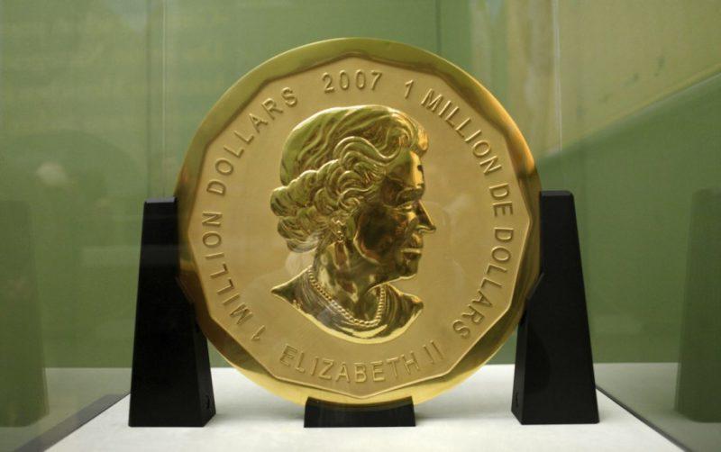 The big maple leaf, Musée de Berlin, médaille, expo in the city