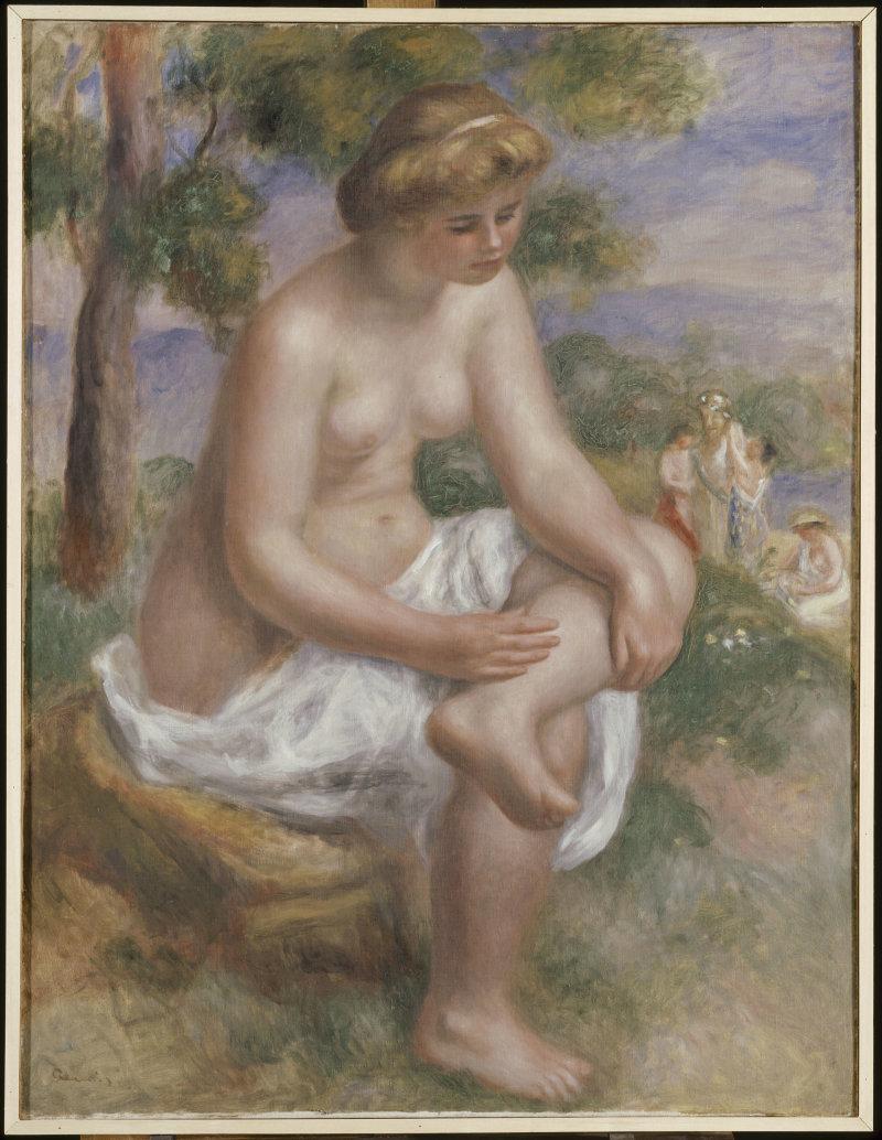 Renoir Auguste (1841-1919). Paris, musée national Picasso - Paris. RF1973-87.