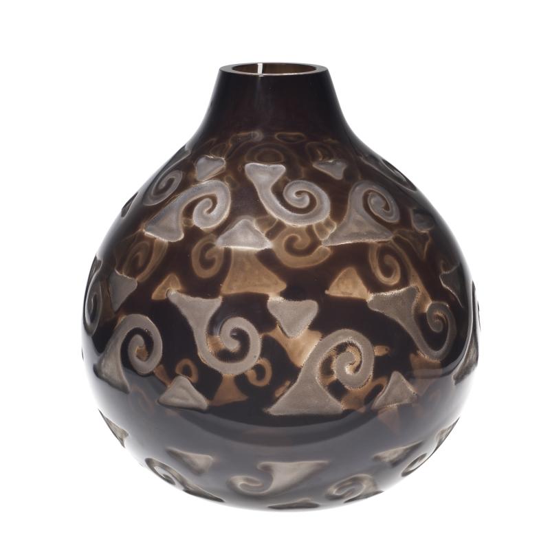 René Lalique, Vase Volutes, 1926 - Exposition Retour aux sources au Musée Lalique