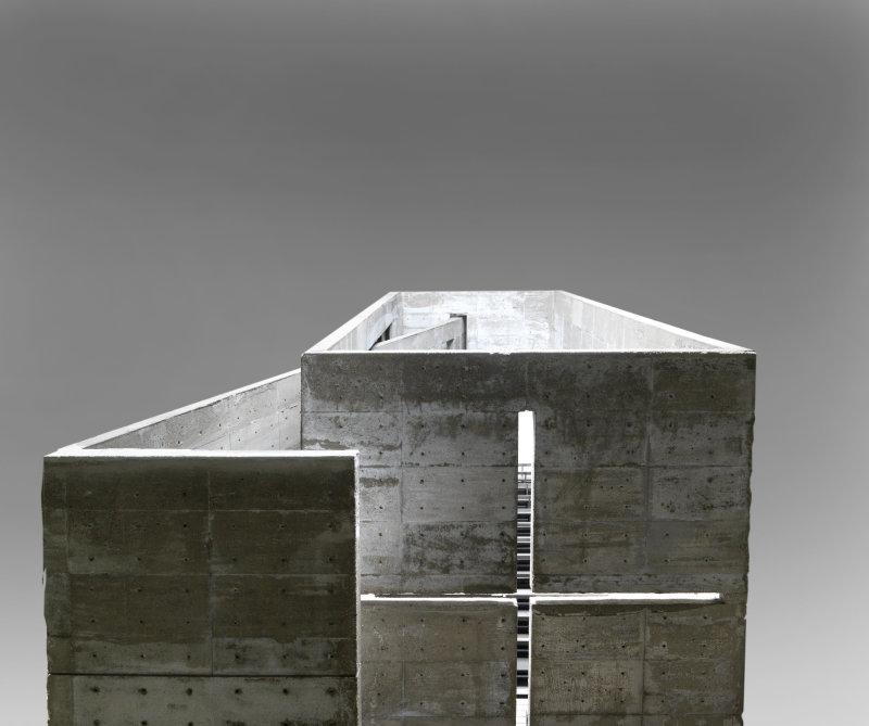 Ando Tadao (né en 1941). Paris, Centre Pompidou - Musée national d'art moderne - Centre de création industrielle. AM2010-2-687.