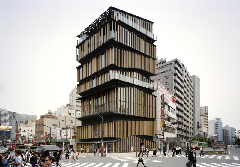 KENGO KUMA & ASSOCIATES, Asakusa Culture Tourist Information Center, 2012