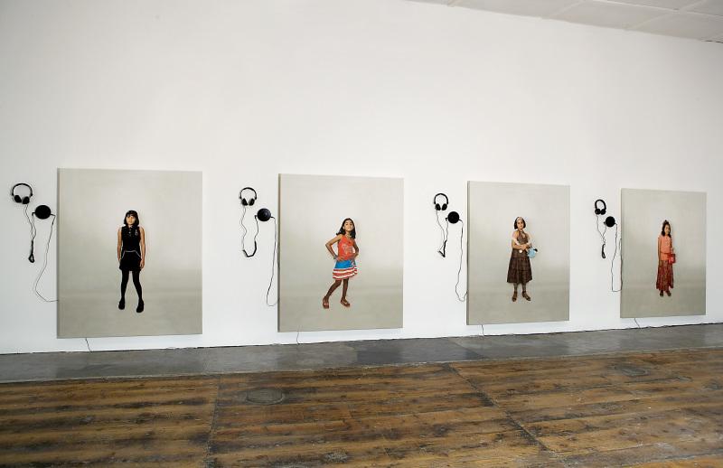 Shilpa Gupta, I Have Many Dreams 2007-2008 photograph print on canvas