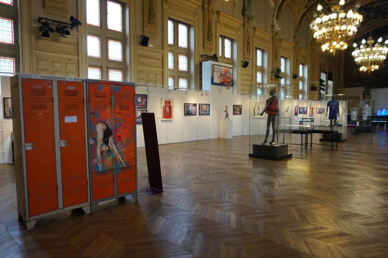 Expo C215, Athlètes - Mairie du 13ème