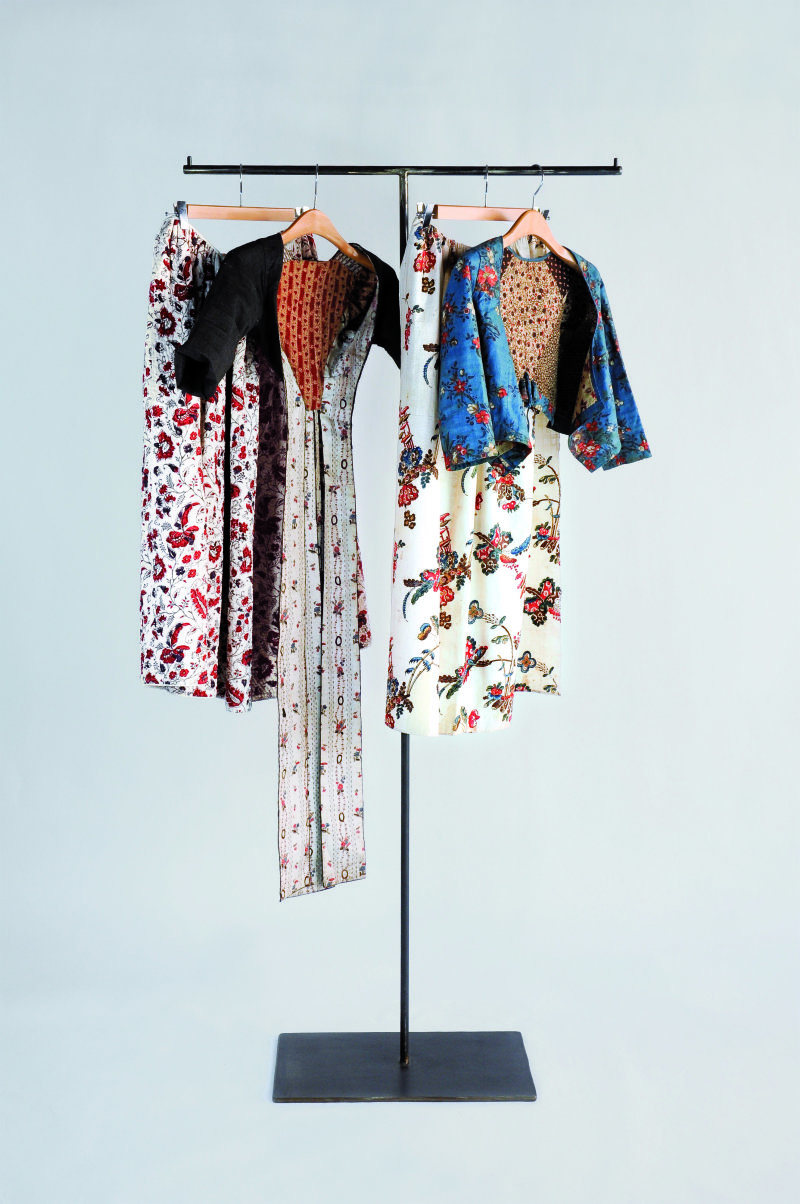 Pièces de costume provençal du XVIIIe siècle, Expo Raspal, Musée Fragonard, Grasse