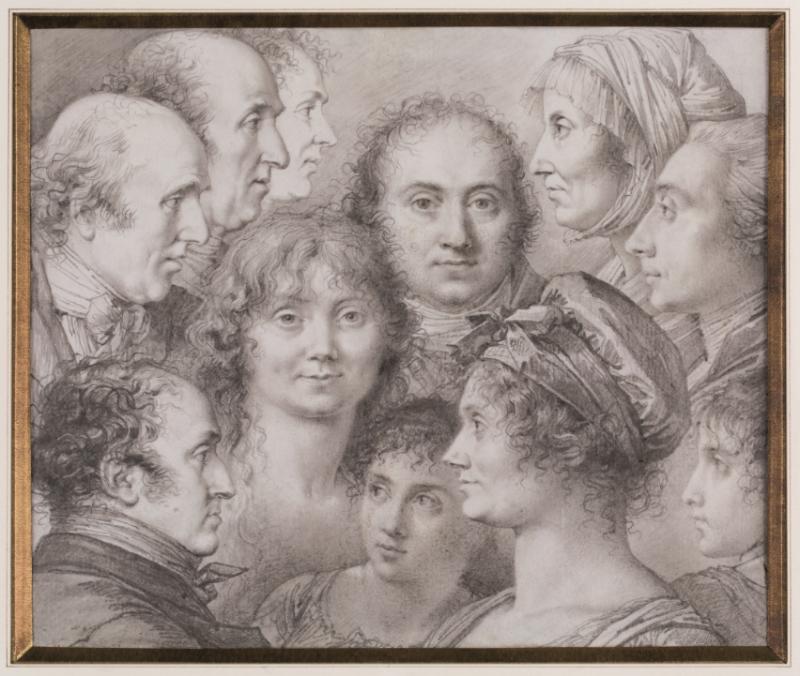 Jacques Réattu et sa famille, Expo Raspal, Musée Fragonard, Grasse