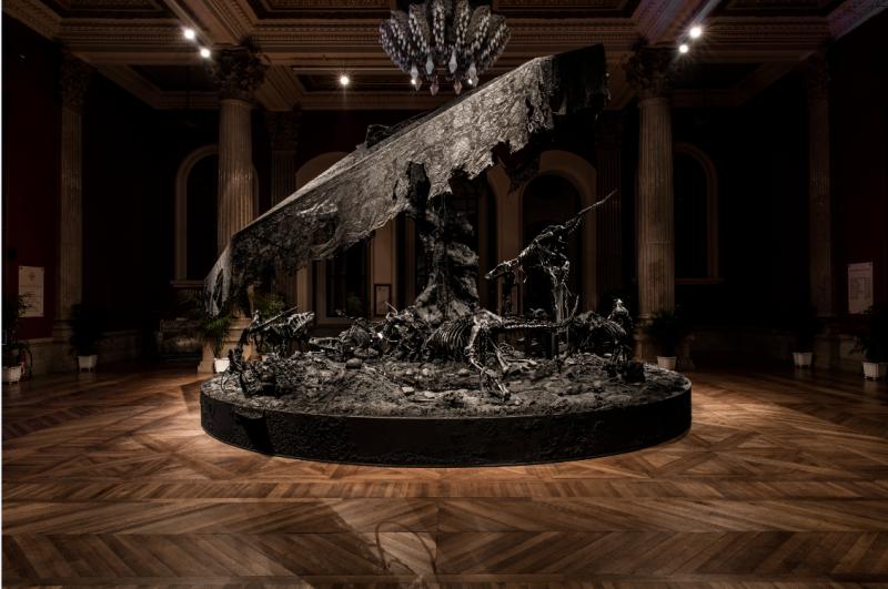 Philippe Pasqua, The Wheel of Time, Exposition BORDERLINE, Musée Océanographique de Monaco