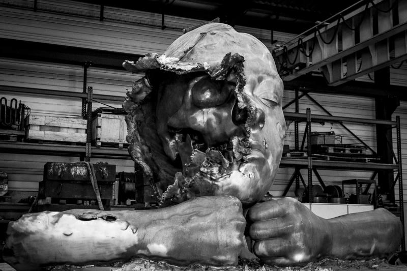 Philippe Pasqua, Face off, Exposition Borderline, musée océanographique Monaco