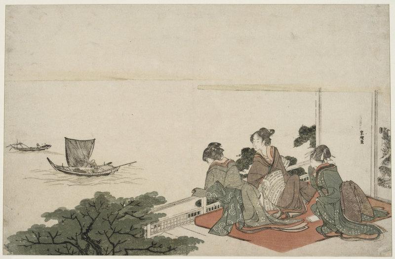 Hokusai Katsushika (1760-1849). Paris, musée Guimet - musée national des Arts asiatiques. EO1833.