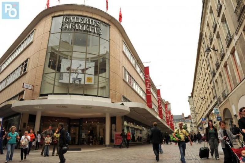 Galeries Lafayette, Nantes, journées européennes du patrimoine, JEP, expo in the city