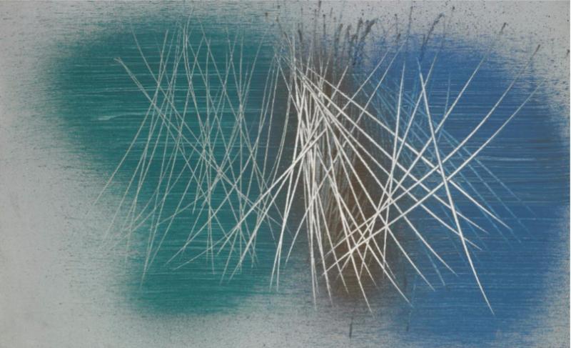Hans Hartung, 1961-72, 1961, L'invisible vu, centre d'art contemporain de la Matmut