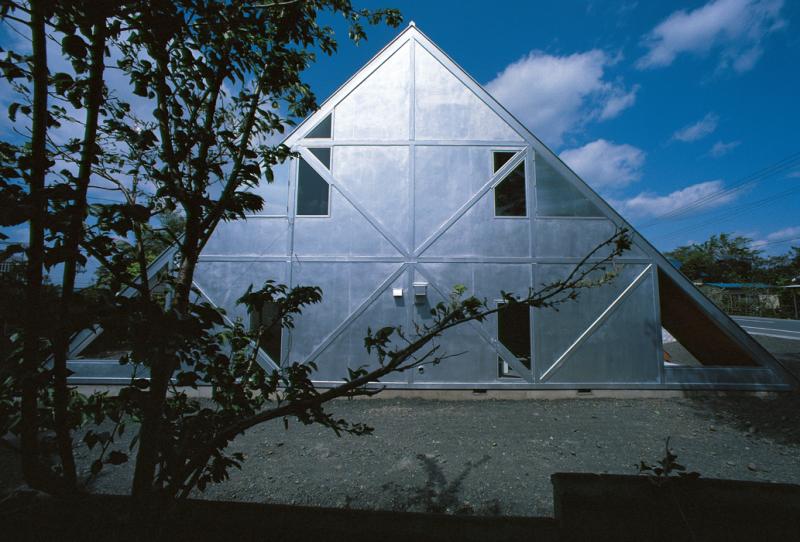 Itsuko Hasegawa, Maison version 1, Yaizu, Préfecture de Shizuoka, Japon