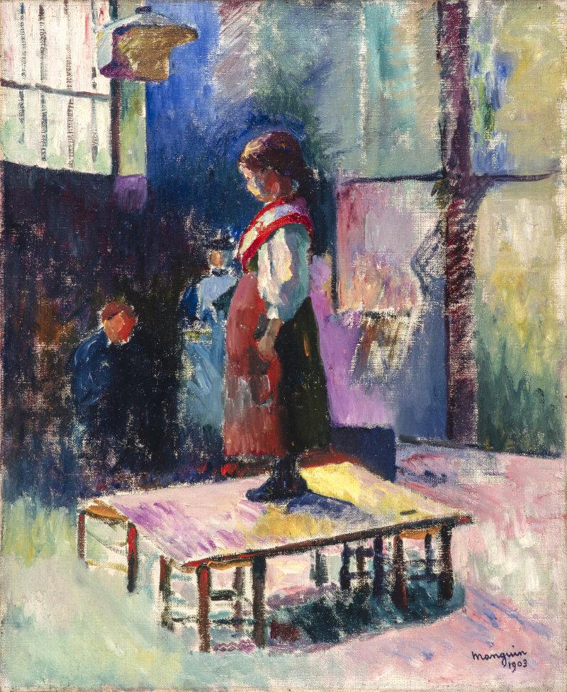 Huile sur toile, 61 X 50 cm, 1903-194, catalogue no 99