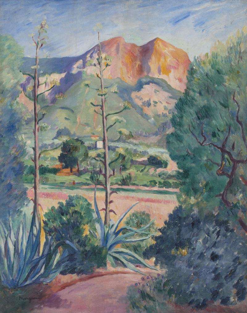 Henri Manguin Les Aloes en fleurs a Cassis, 1913 1909 - La volupté de la couleur au musée des impressionnismes de Giverny