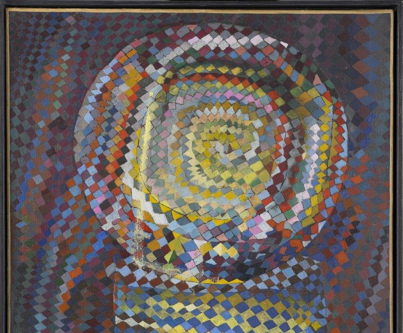 Vieira Da Silva Maria Elena, La Machine optique, 1937, L'invisible vu, centre d'art contemporain de la Matmut