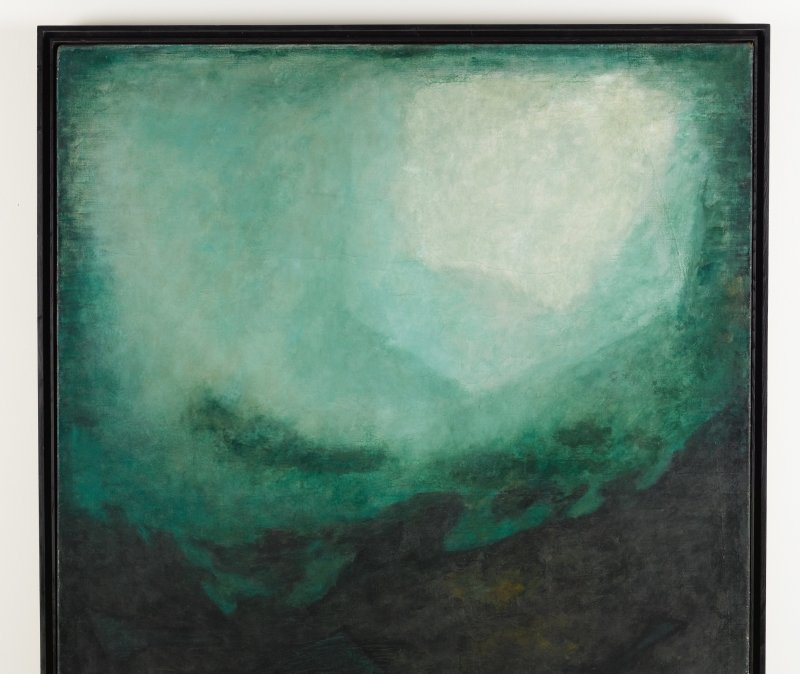 Josef Sima, L'extase ancienne, 1958, L'invisible vu, centre d'art contemporain de la Matmut