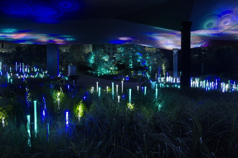 Nuit Blanche, oeuvre pérenne, Yann Kersalé, expo in the city