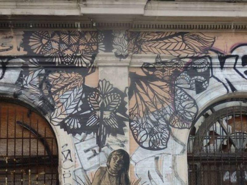Nuit Blanche, street art, Swoon, expo in the city