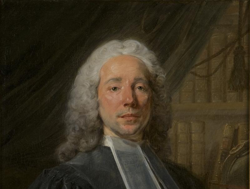 Portrait de Daniel Jousse (1704-1781), conseiller au Présidial d'Orléans.