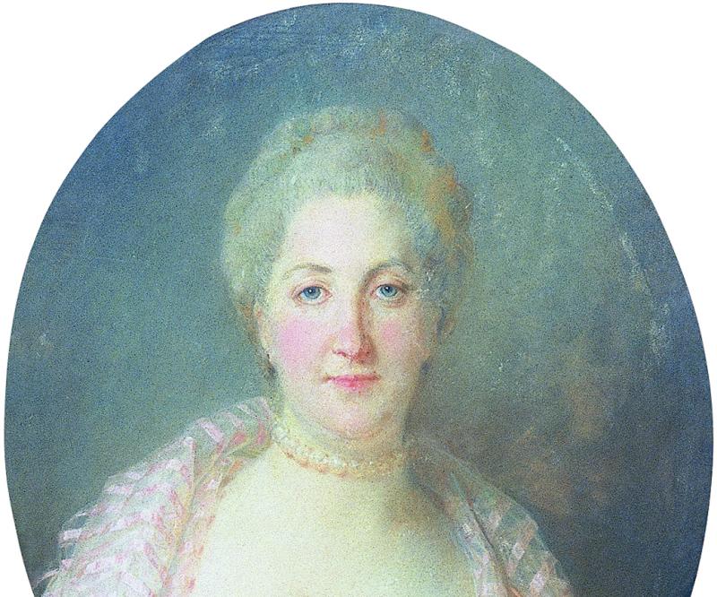 Portrait de Mme de Parouty