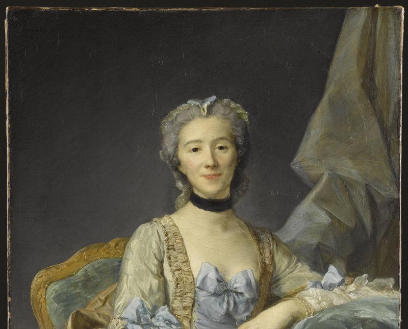 Portrait de Mme de Sorquainville, née Geneviève Antoinette Le Pelletier de Martainville