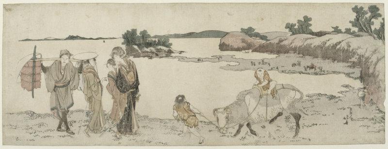 Hokusai Katsushika (1760-1849). Paris, musée Guimet - musée national des Arts asiatiques. EO253.
