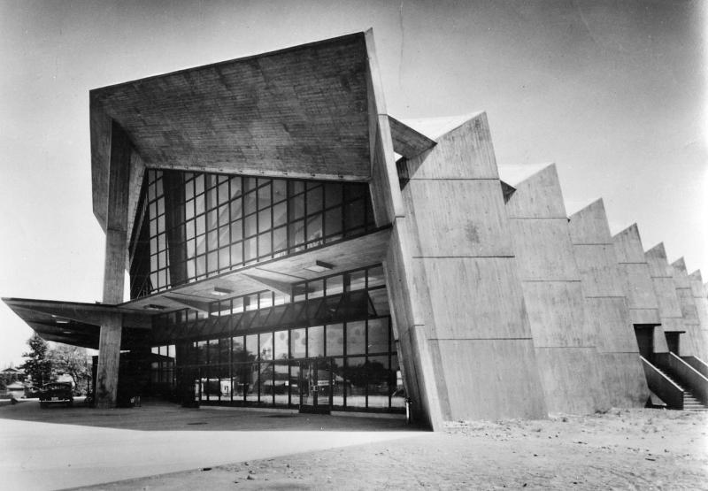 Antonin Raymond, Gunma Music Center, 1961