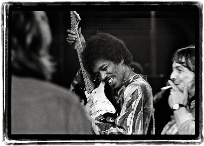 Steve Hiett, photographie du concert de Jimi Hendrix sur l'île de Wight, 1970