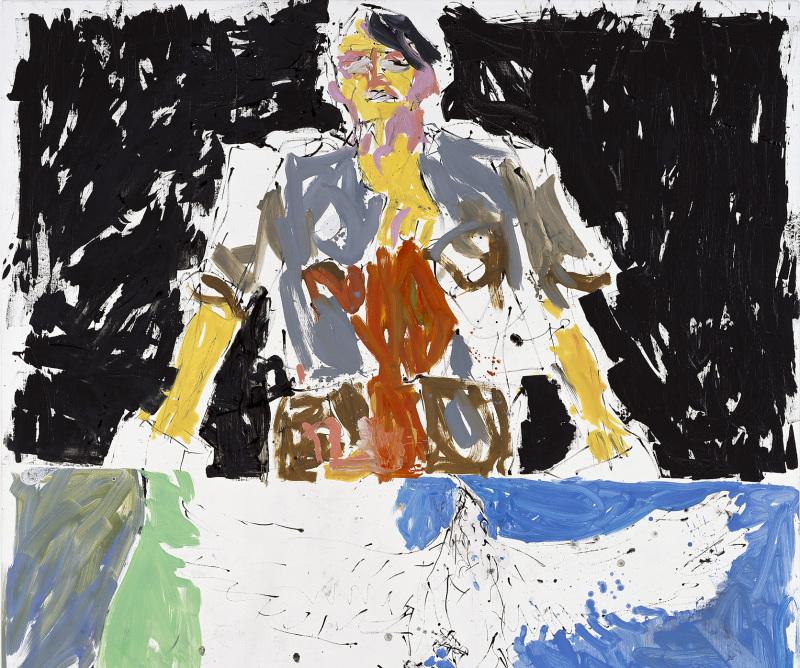 Georg Baselitz, Aigle 53 –Héro 65 (Remix) , 2007