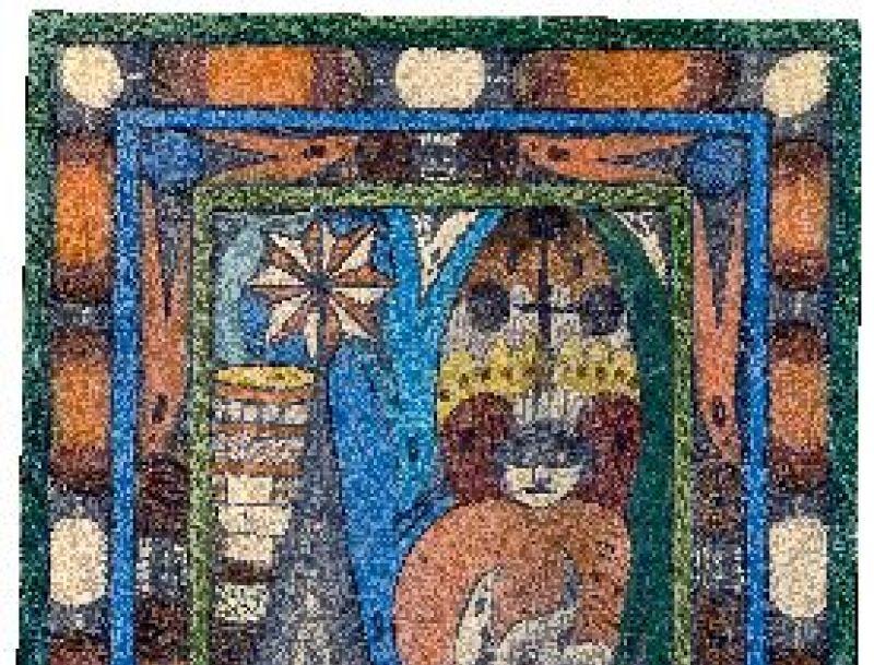 Adolf Wölfli, mine de plomb et crayon de couleur sur papier
