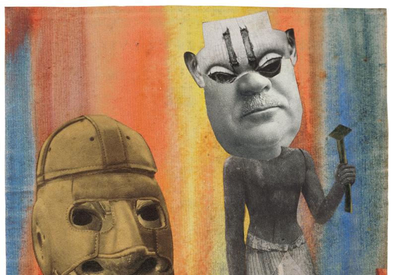 Atelier enfant À vos masques au Musée de l'Orangerie octobre 2017