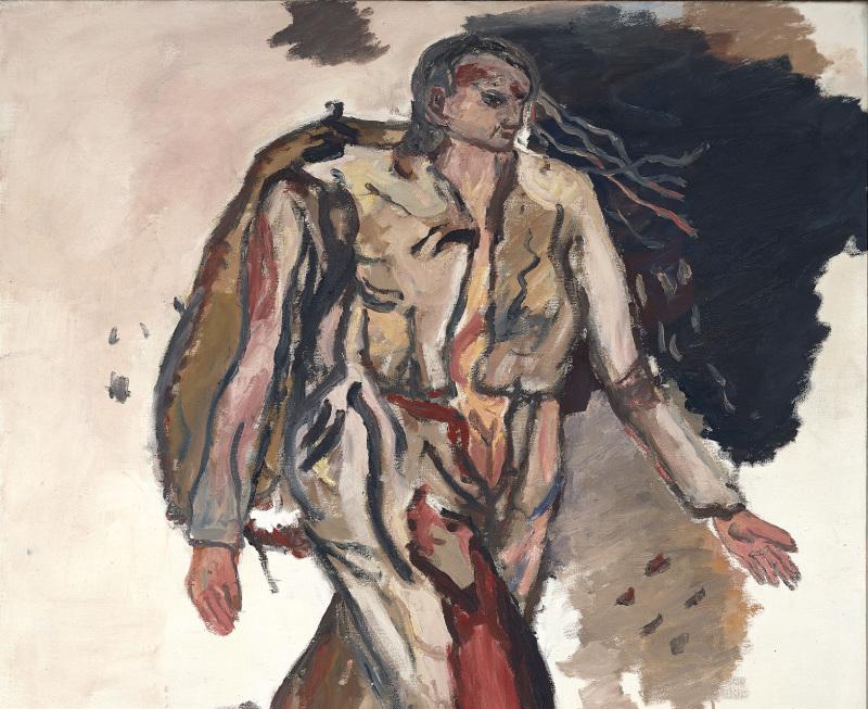 Georg Baselitz, Bonjour Monsieur Courbet, 1965